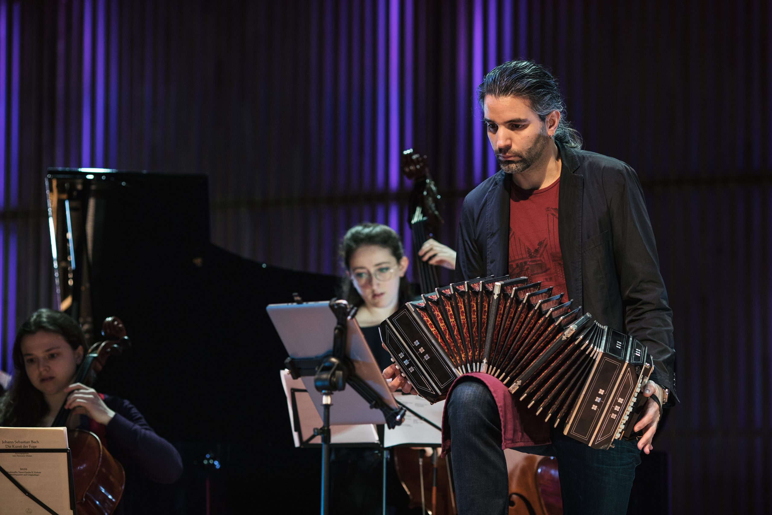 1. Santiago Cimadevilla Tango concert